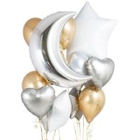 Букет из шаров «Золотая ночь»