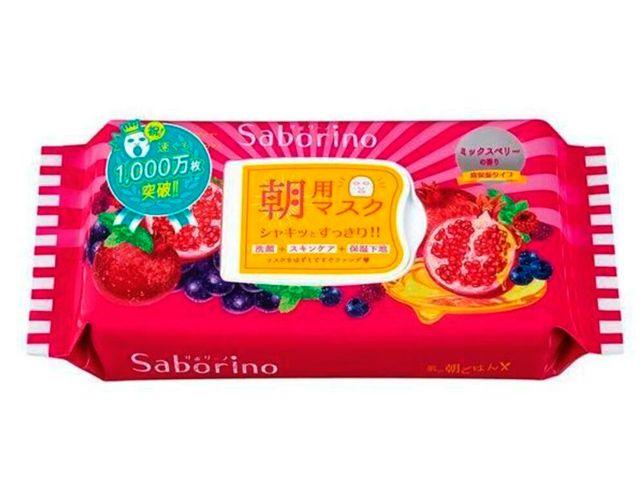 BCL Маска-салфетка для утреннего ухода за лицом увлажнение и питание с ароматом ягод. MORNING FACIAL SHEET MASK MOISTURE REACH, 28 шт.