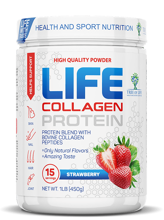 Life Protein Collagen от Tree of Life 450 гр 15 порций