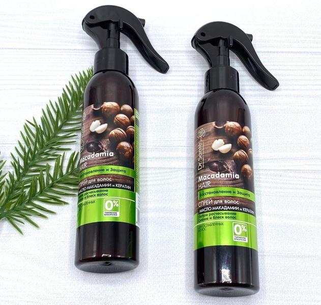 Спрей для ослабленных волос Dr. Sante Macadamia
