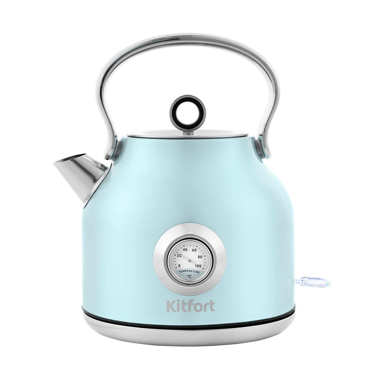 Чайник Kitfort КТ-673-3 голубой