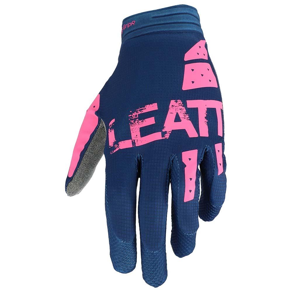 Leatt Moto 1.5 GripR Blue/Pink перчатки