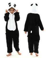 """Кигуруми для детей 6-9 лет """"Панда"""" черно-белый"""