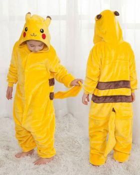 """Кигуруми для детей 6-9 лет """"Пикачу"""" желтый"""