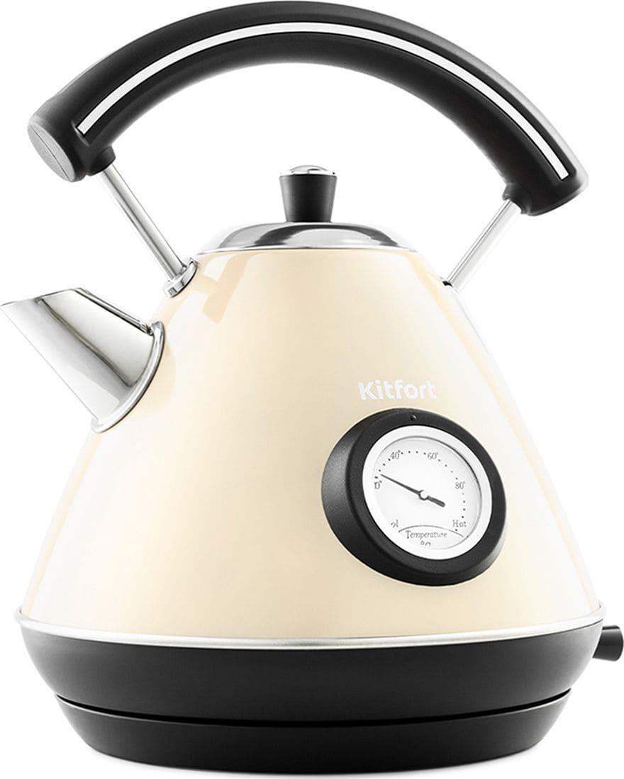 Чайник Kitfort КТ-687-3 (бежевый)