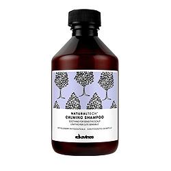 Davines Natural Tech Calming Shampoo - Успокаивающий шампунь для чувствительной кожи головы 250мл