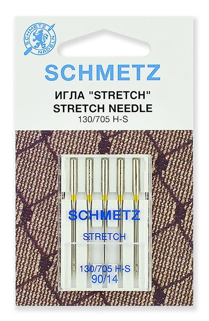 Иглы стрейч Schmetz 130/705Н-S №90 (22:80.FB2.VDS)