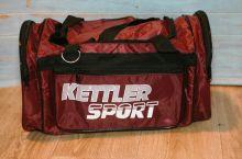 Сумка спортивная Kettler Sport бордовая