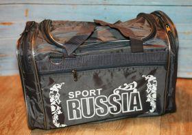 Сумка спортивная Russia Sport серая