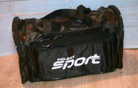 Сумка спортивная Sport team серая