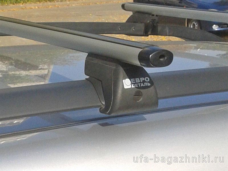 Багажник на крышу - аэродинамические дуги на рейлинги Skoda Yeti, Евродеталь