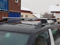 Багажник на рейлинги Skoda Yeti, Евродеталь, крыловидные дуги