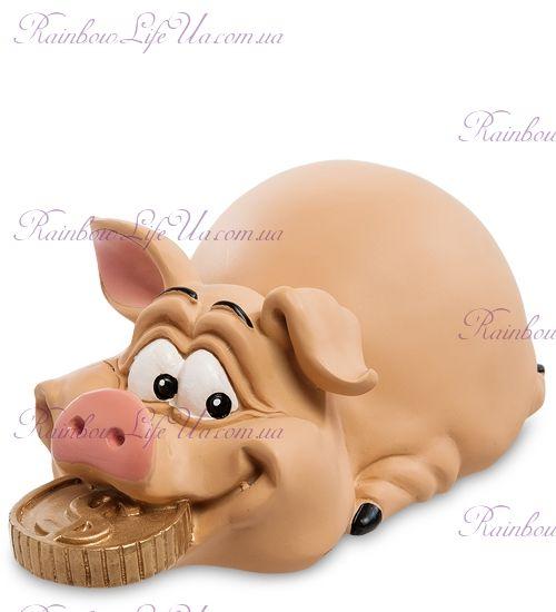 """Копилка свинка приношу удачу """"WS"""""""