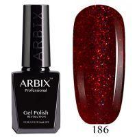 Гель лак  ARBIX № 186 Лесные ягоды