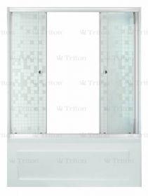 Шторка на ванну Тритон Купе 170 см мозаика