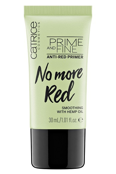 Праймер Prime And Fine Anti-Red Primer CATRICE