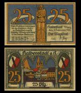 Германия - 25 пфеннингов, 1920. UNC-aUNC. Мультилот