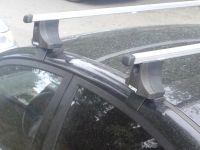 Багажник на крышу Hyundai Elantra 4, Атлант, прямоугольные дуги