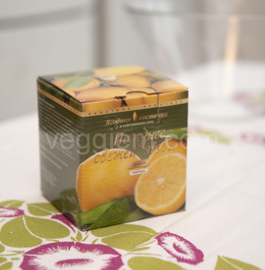 Паста имбирь  и лимон Liquidfruits , 550 грамм