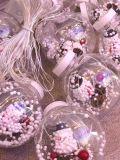 """Новогодняя гирлянда штора шарики с игрушкой """"Снеговик"""""""