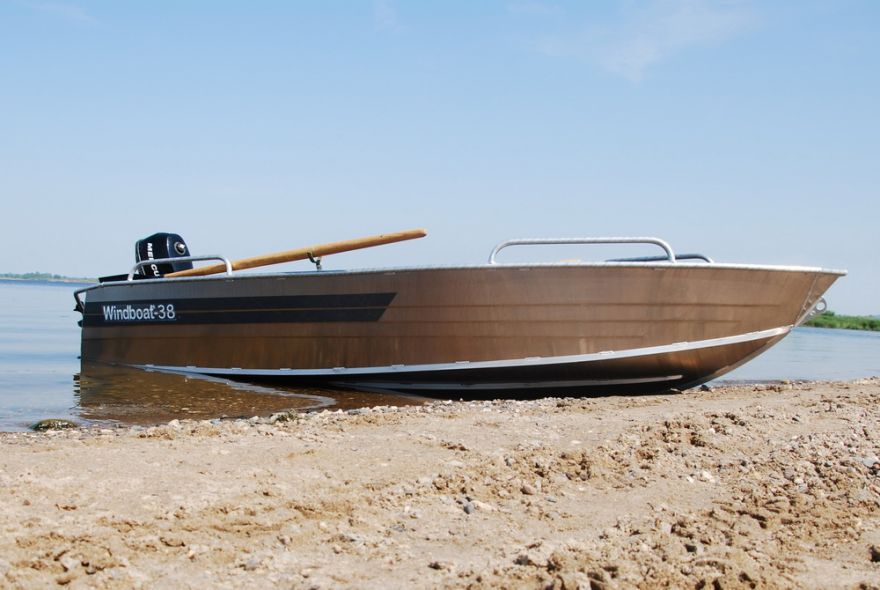 Лодка WINDBOAT 3.8 (румпель)