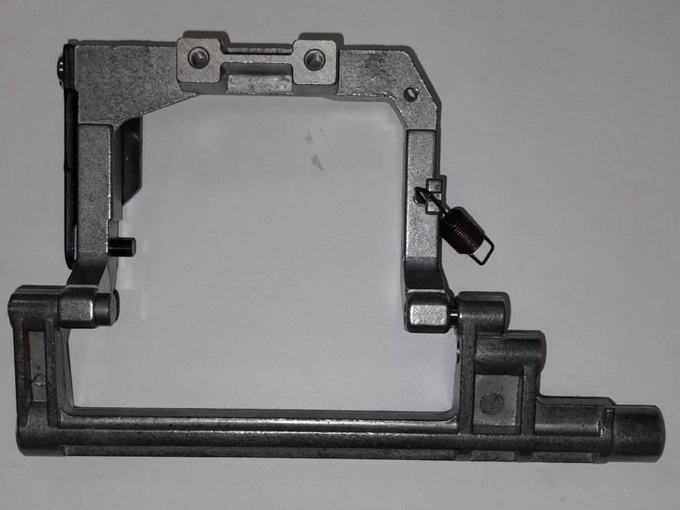 Пластина крепления зубчатой рейки Janome JG 408.      Цена 300 руб.