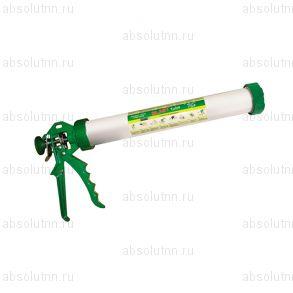 Пистолет для герметика c алюминиевой тубой. Tube Long Blast.