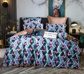 Комплект постельного белья Сатин Роял Тенсель TS010