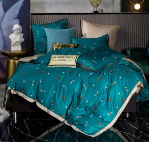 Комплект постельного белья Сатин Роял Тенсель TS012