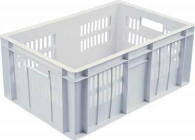 Ящик пластиковый 600х400х250 сплошное дно