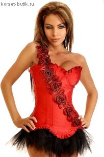 Корсет Красная Роза