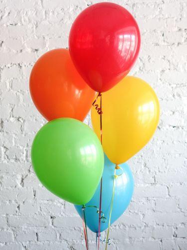 Гелиевые шары микс 5 шт.