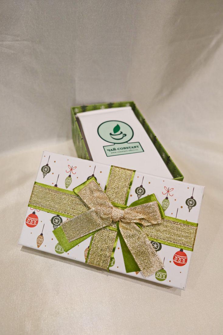Новогоднее настроение - подарочный набор с чаем или кофе