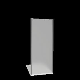 Душевая перегородка BAS INFINITY SP-80-G-CH, матовое стекло