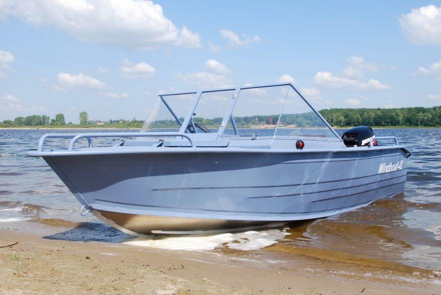 Лодка WINDBOAT 4.2Pro (капот)