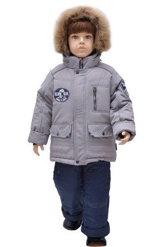 Комплект для мальчика куртка и полукомбинезон Зима, 4-7 лет Rusland RLА8517
