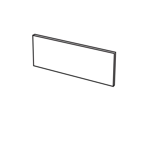 Пристенная панель для раковины Cielo Elle Ovale ELP70 68х1,5 ФОТО