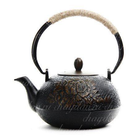 Чайник чугунный №14 1100 мл
