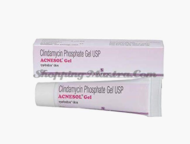 Акнесол гель (клиндамицин 1%) Systopic Laboratories  Acnesol Gel (clindamycin %)
