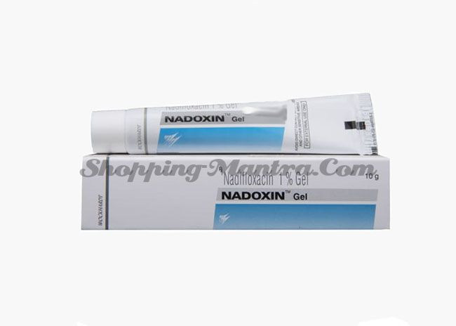 Надоксин гель (надифлоксацин 1%) Dr Reddy'S Laboratories Nadoxin Gel (nadifloxacin 1%)