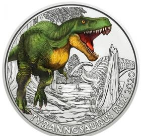 Тиранозавр Рекс 3 евро Австрия 3 евро 2020 на заказ