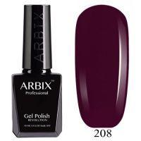 Гель лак  ARBIX № 208 Гранатовый сок