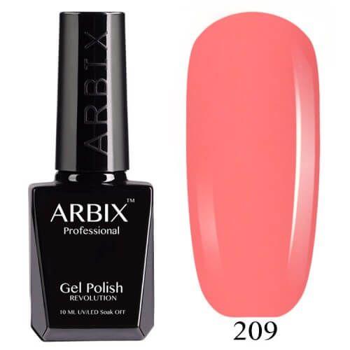 Гель лак  ARBIX № 209 Калифорния