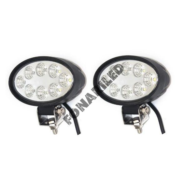 Комплект светодиодных фар K-FR8-24W FLOOD рабочий свет