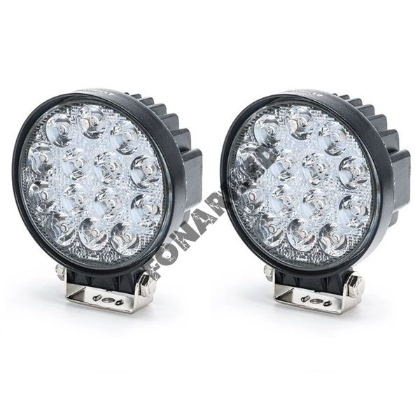 Комплект светодиодных фар K-FR14-42W SPOT дальний свет