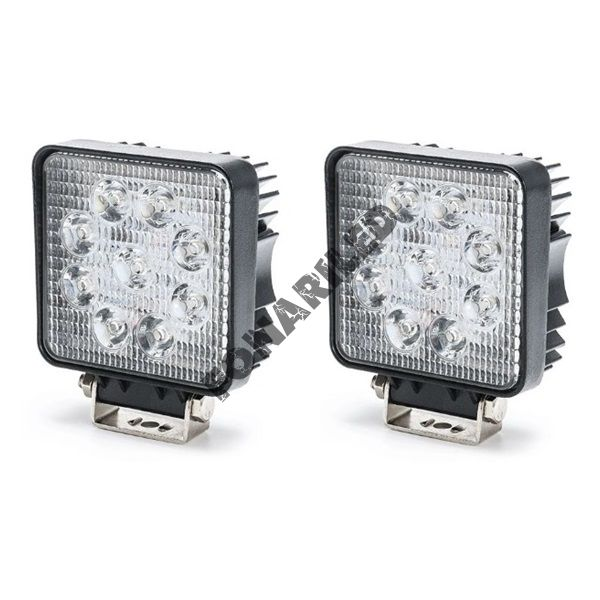 Комплект светодиодных фар K-FRK9-27W SPOT дальний свет