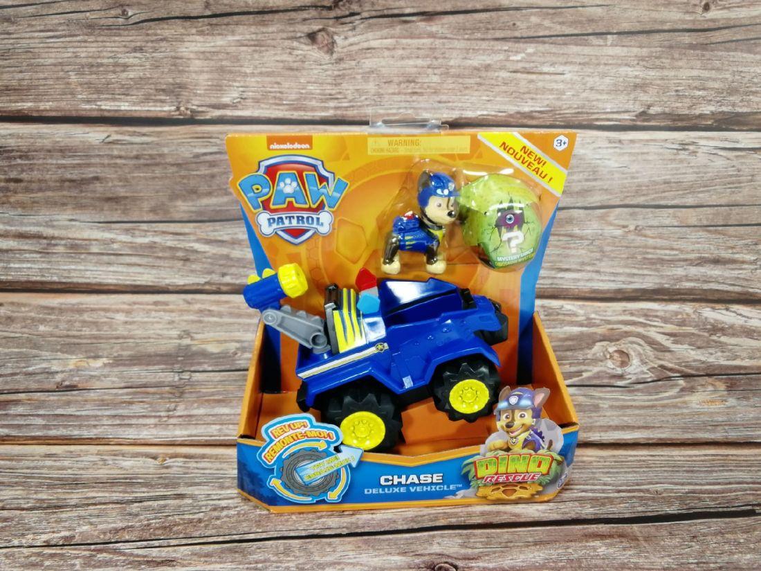Щенячий патруль Paw Patrol Dino Rescue Chase + полицейская машина + динозавр 6056930