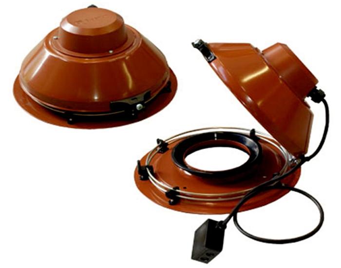 Крышный вентилятор TFSR 125 XL Sileo Red