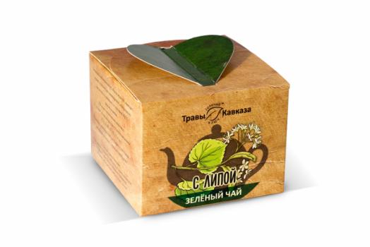Зелёный чай с липой