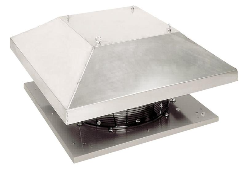 Крышный вентилятор DHS 560DV sileo
